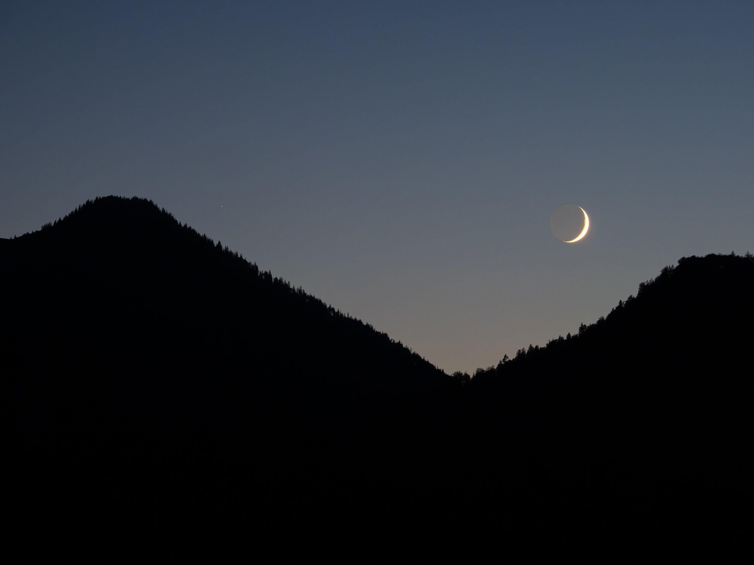 ein bisschen Mond