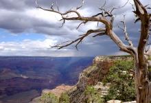 Sturmstimmung über den Grand Canyon